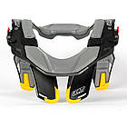 Защита шеи LEATT NECK BRACE STX ROAD black yellow, фото 5