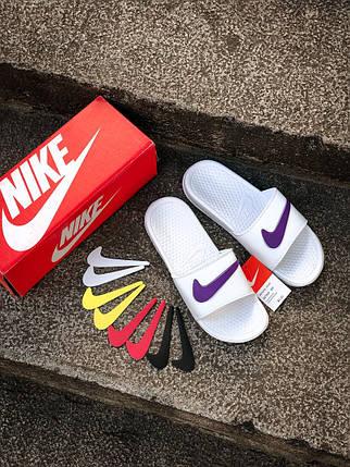 """Сланці Nike """"Білі"""", фото 2"""