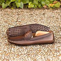 🚗 Мужская обувь для вождения автомобиля ручной работы MAVI STEP No. 3958