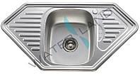 Мойка кухонная трапециевидная из нержавеющей стали ZEGOR MD-9550R