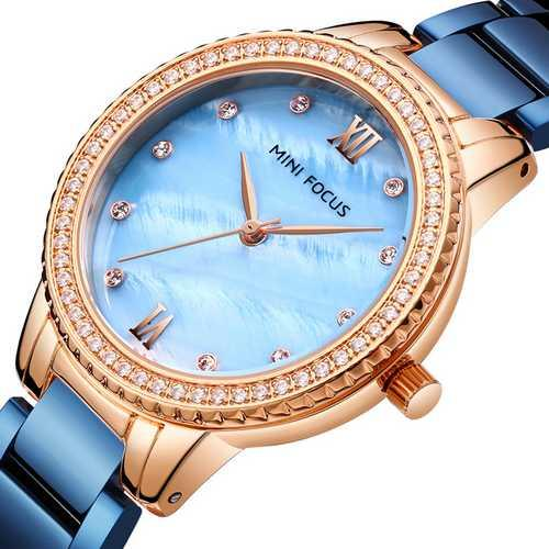 Mini Focus MF0226L.04 Blue-Gold Diamonds
