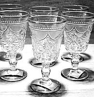 Набор Бокалов 581-044 из прозрачного стекла 280мл*6 шт, фото 1
