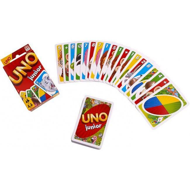 Карточная игра UNO для самых маленьких, 52456