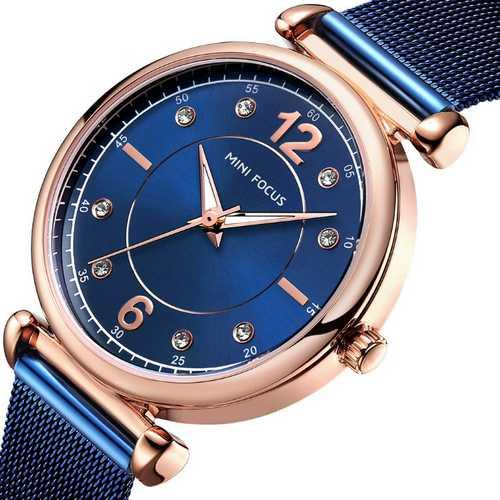 Mini Focus MF0177L.04 Blue-Cuprum-Blue Diamonds