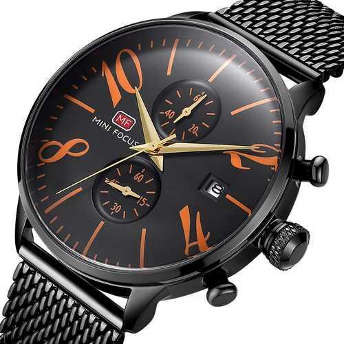 Mini Focus MF0135G.08 Black-Orange