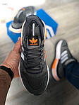 Чоловічі кросівки Adidas Gray/Orange 419PL, фото 6