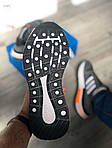 Чоловічі кросівки Adidas Gray/Orange 419PL, фото 3