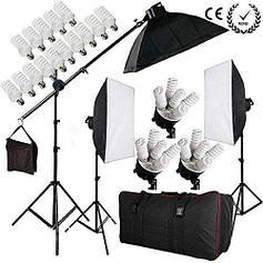 Набор постоянного студийного света на 15 ламп FST PHOTO 1125 MAX