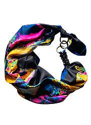 "Атласний шарф,""Весняна гроза"" атласний хустка, шарф-кольє, шарф-чокер, шийну хустку My Scarf"