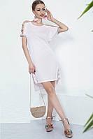 Стильное платье из люрекса (два цвета)