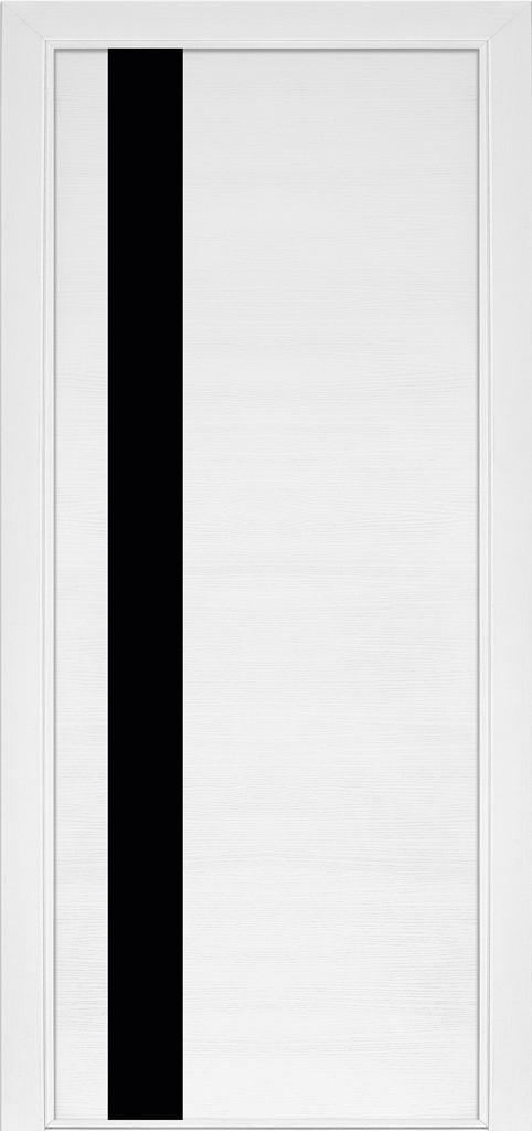 Дверь межкомнатная Terminus Модель 21 Ясень белый (застекленная)