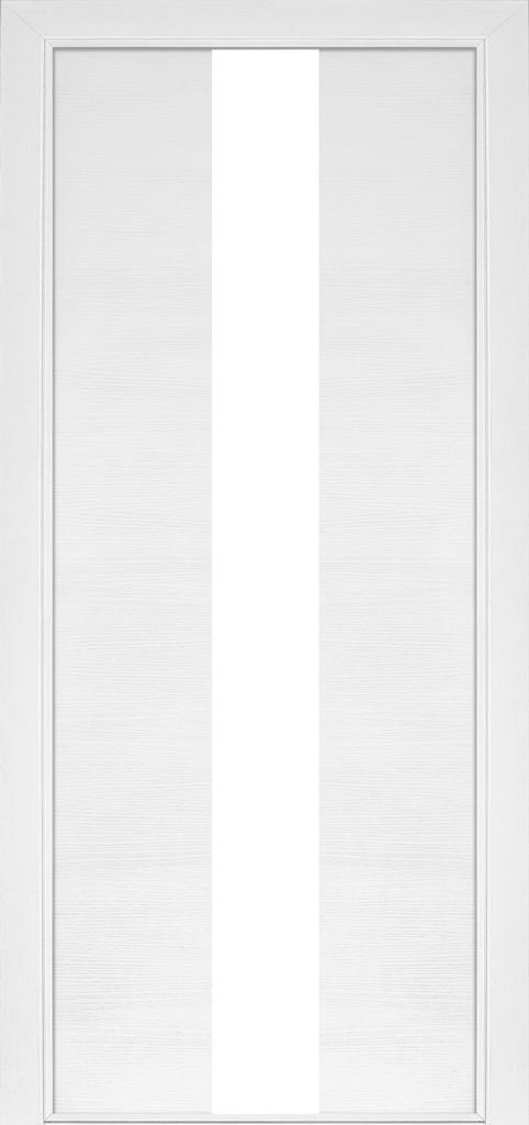 Дверь межкомнатная Terminus Модель 23 Ясень белый (застекленная)
