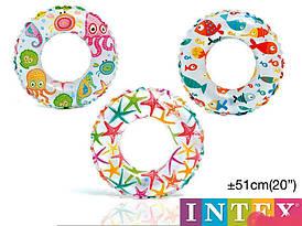 Коло Intex 59230 діаметр 51 см від 3 до 6 років