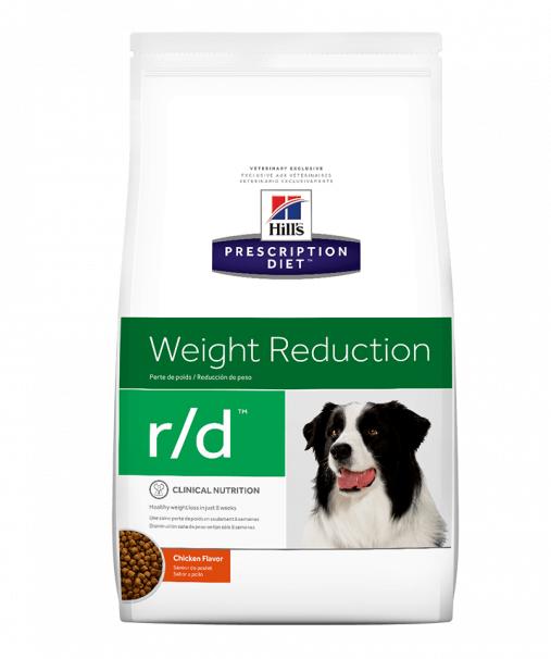 Корм Хіллс PD Canine R/D при ожирінні, для зниження ваги, 1,5 кг