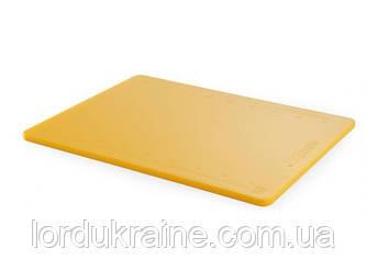 Обробні дошки з мірними поділками Perfect Cut Hendi 500x380x12 мм Жовтий