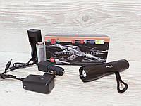 Фонарик светодиодный Bailong Police BL-1C-T6, 18650 mAh 1000 люмен, тактический аккумуляторный фонарик