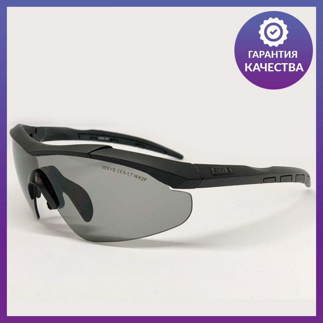 Очки тактические, темные 5.11, 3 линзы в комплекте - реплика (glasses511)