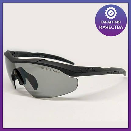 Очки тактические, темные 5.11, 3 линзы в комплекте - реплика (glasses511), фото 2