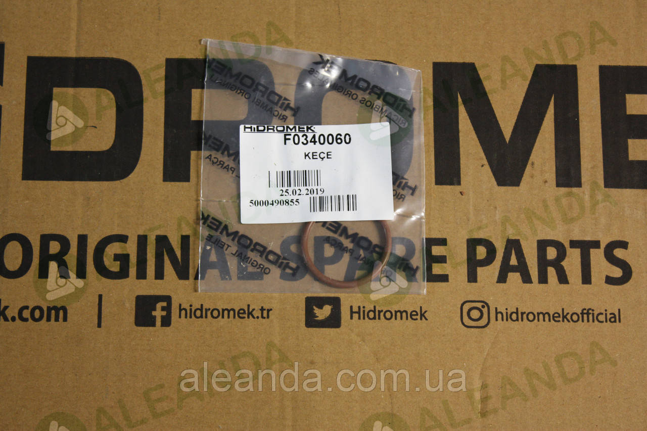 F0340060 Сальник в КПП Hidromek