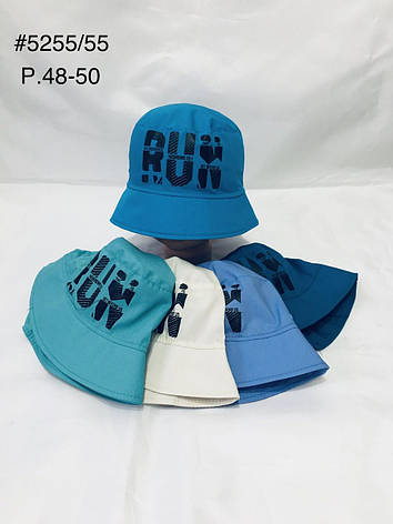 Панамка для мальчика RUN р.48-50, фото 2