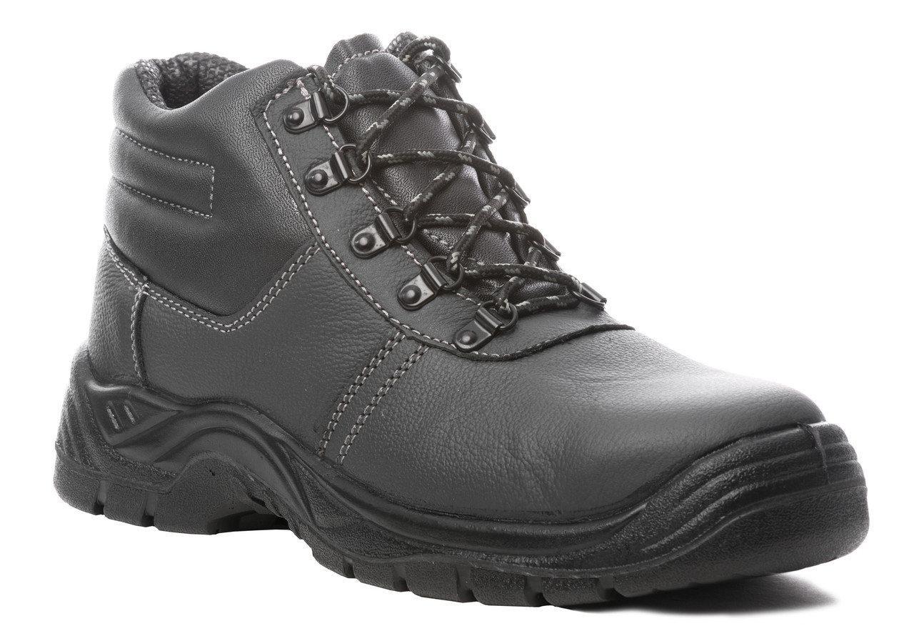 Ботинки кожаные AGATE HIGH new, S3 45