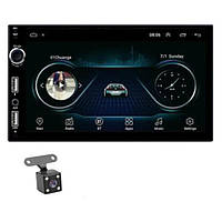Автомагнитола 2DIN A707 ANDROID 8.1 GPS WI-FI USB магнітола 2 дін в авто магнітофон магнитола 2-DIN магнитофон, фото 1