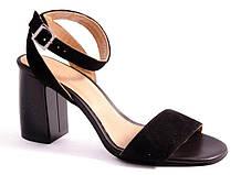 Босоножки женские черные Viscala 64972