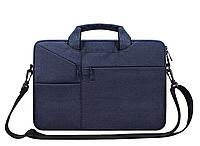 Сумка для ноутбука діагоналі 13''-14'' дюймов - темно-синий