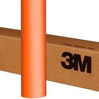 Оранжевая матовая пленка 3M 1080 Matte Orange