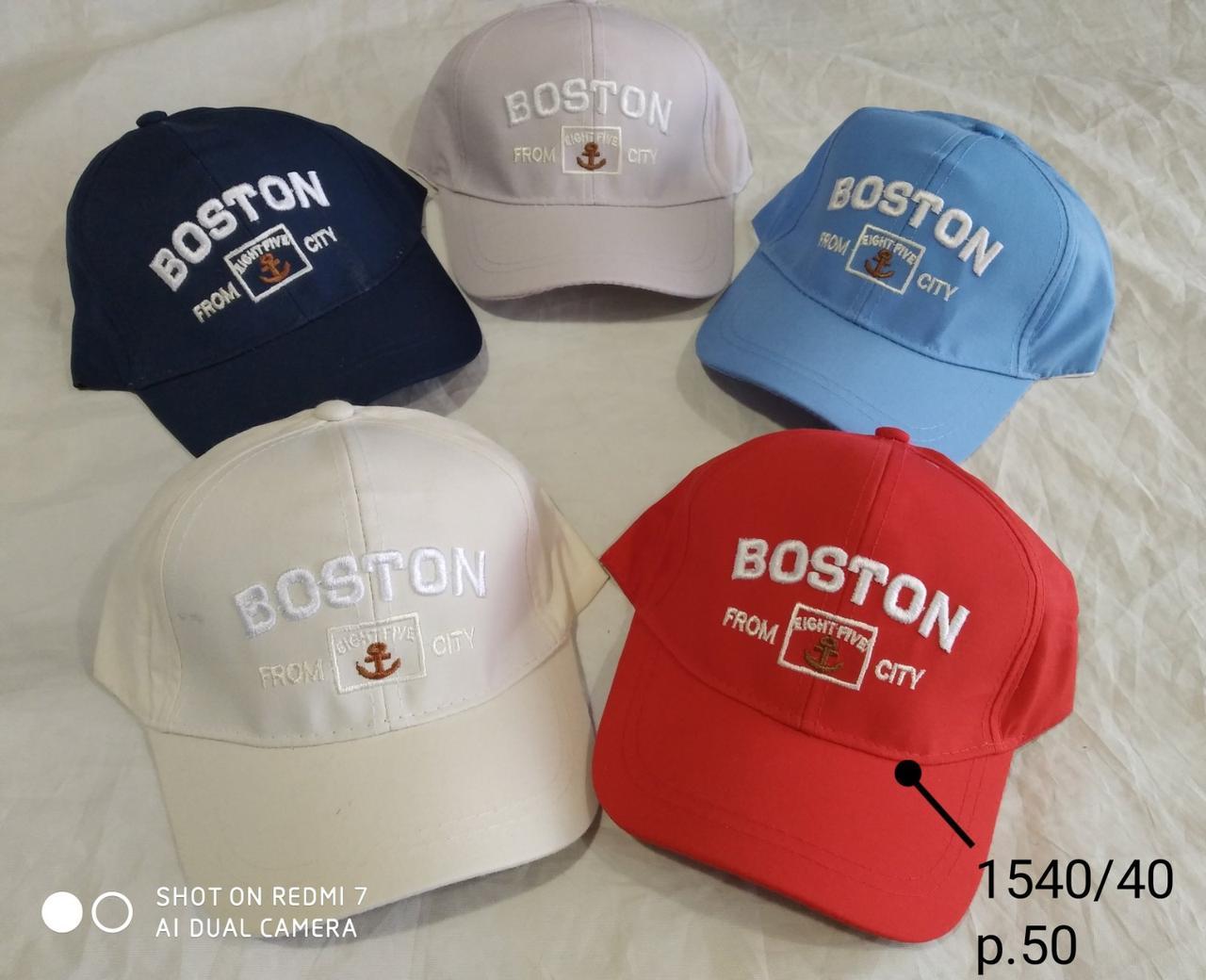 Кепка для мальчика Boston р. 50 опт