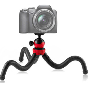 Гнучкий прогумований штатив восьминіг Ulanzi для телефону, фотоапарата. (Fotopro Ufo 2, GorillaPod, Joby)