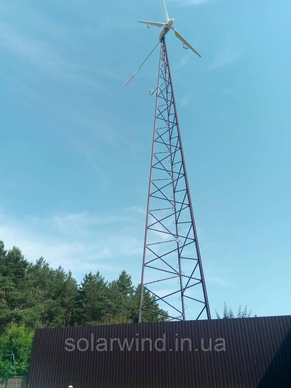 Будівництво вітрогенеруючої установки