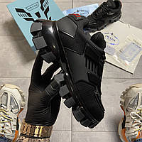 Кроссовки женские Prada Cloudbust Thunder Triple Black. Стильные женские кроссовки. , фото 1