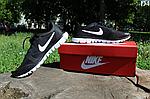 Мужские кроссовки Nike Free Run 3.0 (черно-белые) D4, фото 2