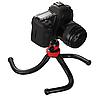 Гнучкий прогумований штатив восьминіг Ulanzi для телефону, фотоапарата. (Fotopro Ufo 2, GorillaPod, Joby), фото 6