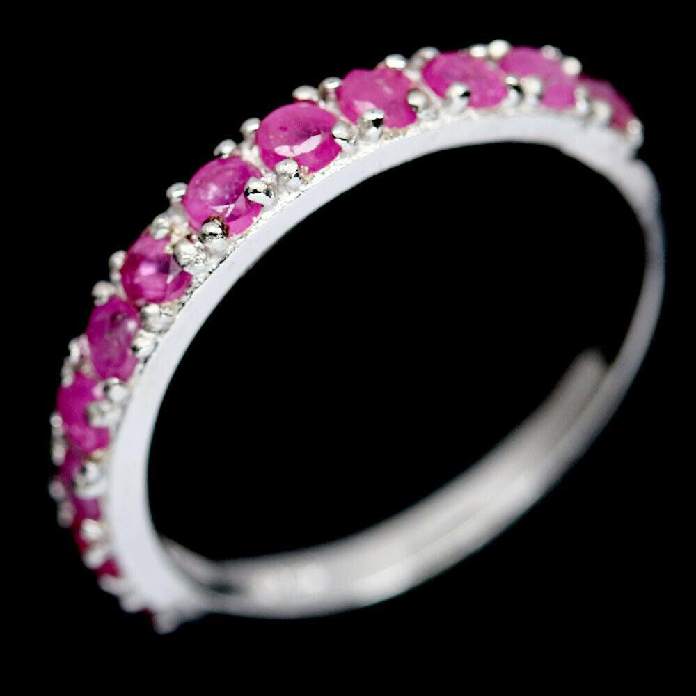 Серебряное кольцо с рубином, 2346КЦР