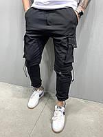 Мужские спортивные штаны 2Y Premium 5162 black, фото 1