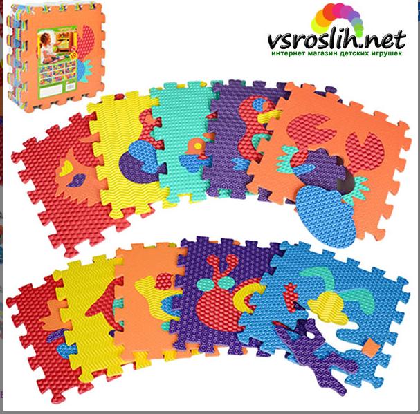 Sale! Развивающий детский коврик «Мозаика» M2616