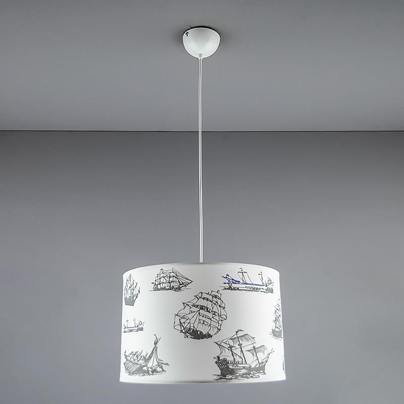 Люстра подвесная на три лампы NM-814293/3 WT WT