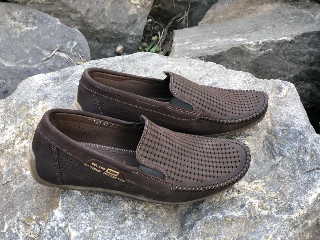 Мужские кожаные туфли 322 шок размеры 39,41,42,44