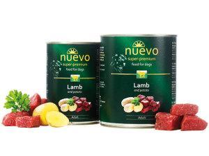 Консервированный корм для собак NUEVO ADULT с говядиной 400 г