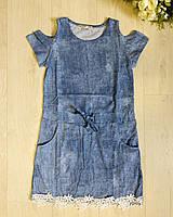 Платья для девочек оптом, Glo-story, 110-160 см,  № GYQ-8086, фото 1
