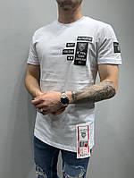 Мужская футболка 2Y Premium 5158 white