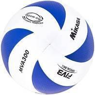 Мяч Волейбольный С 40111 MVA300  материал PU, Клееный, 230 грамм, резиновый баллон