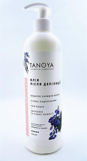 TANOYA Депиляж - Масло после депиляции 500 ml