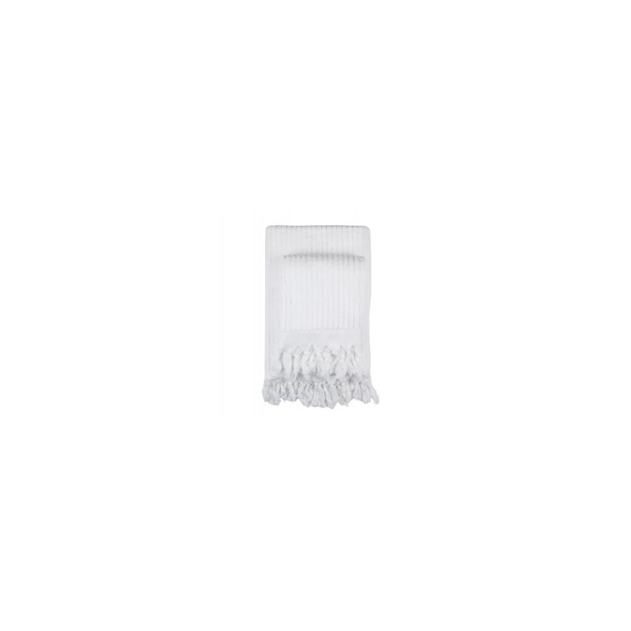 Полотенце Barine - Rib beyaz белый 45*90