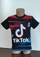 Футболка для мальчика Тик Ток, Tik Tok 4-5 лет