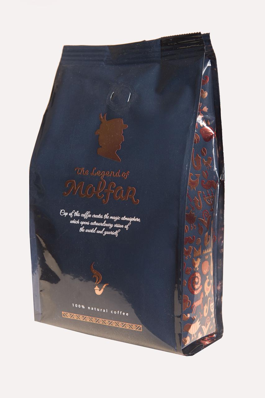 Кофе молотый Легенда Мольфара Арабика Бленд 555 синий 200 г