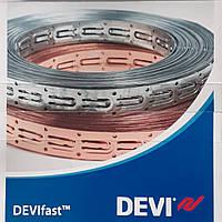 Лента монтажная для теплого пола DEVIfast metal 25м