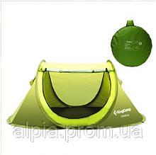 Двухместная палатка KingCamp Venice 2 зеленая